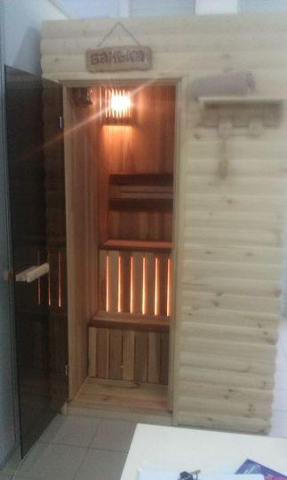 Сауна в квартире, на балконе с экономией 400 руб.только к но.