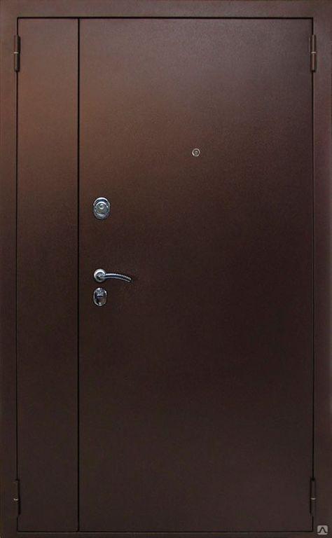 дверь входная нестандартная двустворчатая