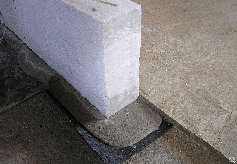 гидроизоляция стен из газобетона