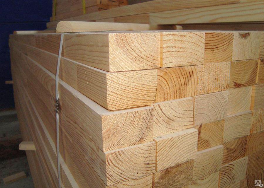 Все размеры деревянных брусов в Минске