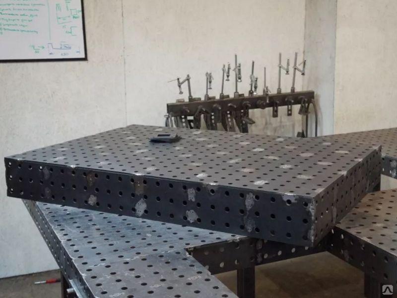Стол сварщика (сварочный стол), цена в Барнауле от компании Альянс-Пром