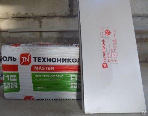 """Пенополистирол """"Техноплекс"""" 50 мм(1180*580 мм) (6 пл/уп) (4.1 м2, 0.20 м3) купить оптом от 175 руб./лист в Уфе от компании ООО """"Дачник+ Доставка"""""""
